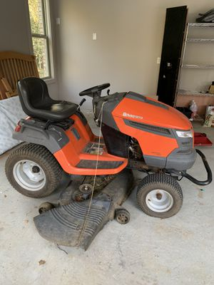 52 inch cut Husqvarna riding lawn mower for Sale in Roswell, GA