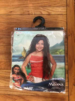 Child's Brown Moana Wig for Sale in San Diego, CA
