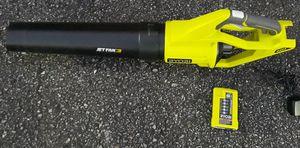Ryobi 40-volt Jet fan leaf blower for Sale in Clemson, SC