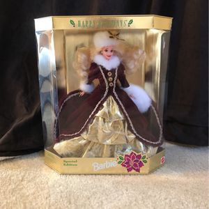 1996 Special Edition Happy Holidays Barbie for Sale in Woodbridge, VA