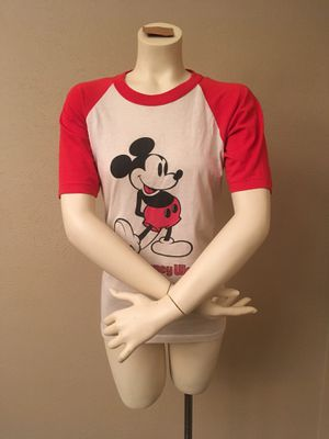 Vintage Mickey Mouse Baseball Tee for Sale in Plano, TX