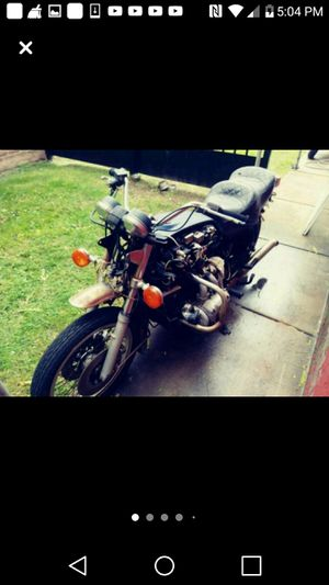 Black and blue Honda naked motorcycle goldwing for Sale in Ecorse, MI