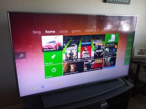 55 inch LG TV 4K almost new for Sale in Placentia, CA