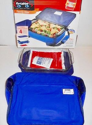 NIB Pyrex Portables 3 QT Insulated Food Carrier 4-Piece Set for Sale in Crofton, MD