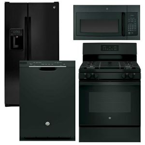 Black Kitchen Appliances $900 DELIVERY AVAILABLE for Sale in Atlanta, GA
