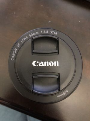 Canon 50mm Lens for Sale in McKees Rocks, PA