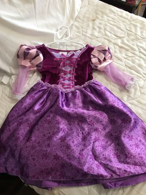 Rapunzel costume from Disney store size 2/3t for Sale in Houston, TX