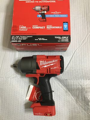 Milwaukee Fuel 1/2 impact wrench 1 key for Sale in Laveen Village, AZ
