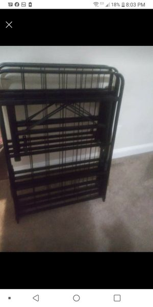 Full size metal bed frame for Sale in Greenville, NC