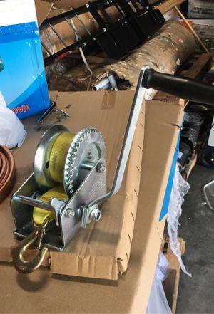 1200lbs strap winch for Sale in La Puente, CA