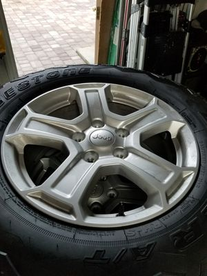 JEEP TIRES AND WHEELS for Sale in Fort Lauderdale, FL
