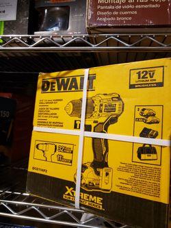 Dewalt Hammer Drill 12v New  for Sale in Lake Elsinore, CA