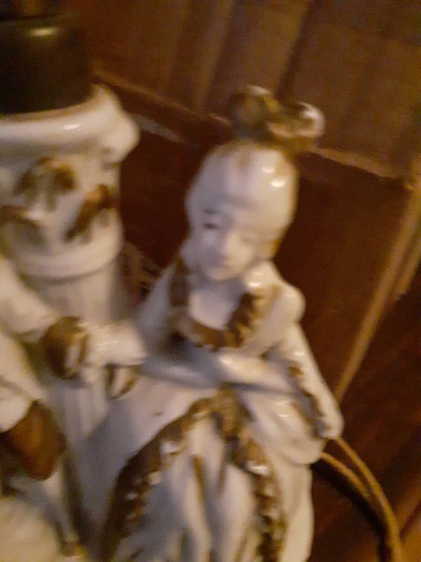 Very old couple lamp