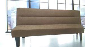 Futon sofa couch $50 sale today for Sale in Dallas, TX