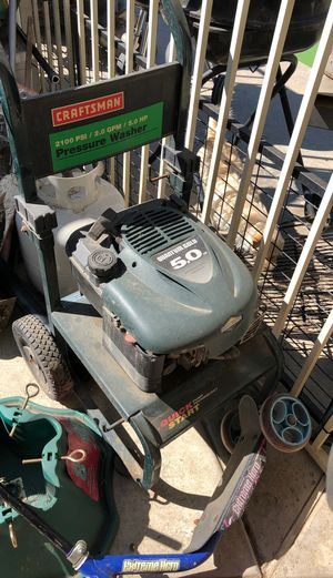 Craftsman pressure washer Briggs and Stratton motor for Sale in Bakersfield, CA