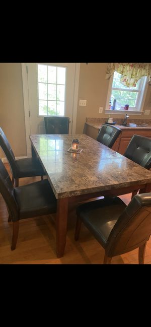 Dining table with 6 chairs for Sale in Ellicott City, MD