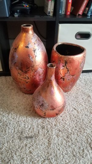 Vase set - home decor for Sale in Willow Spring, NC