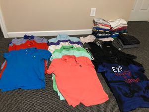 Name brand clothing men's size s for Sale in Holly Springs, NC