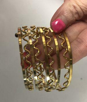 Gold Bangle Bracelet for Sale in Parkville, MD