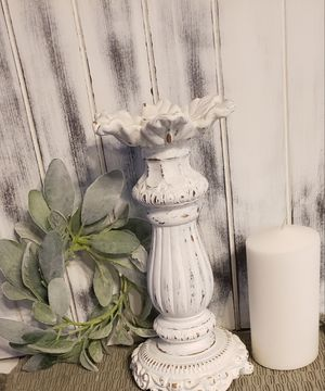 C. Holder + candle + candle ring for Sale in Fresno, CA
