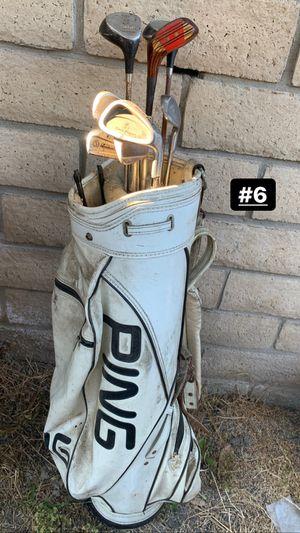 Golf Clubs & Golf Case for Sale in Vista, CA