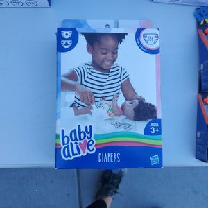 New Baby Alive Diapers for Sale in Santee, CA