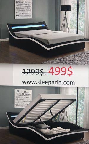 Queen bed Delivery Italy in Box Cama Queen Delivery Italy Moderno Contemporáneo en Caja NO mattress for Sale in West Palm Beach, FL