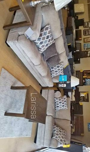 🍻New Ashley Sisal Living Room Set / Couches☆Sofa & Loveseat included☆Chair and Ottoman sold separately💥39 DOWN PAYMENT🍻 for Sale in Houston, TX