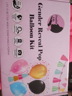 BN Gender Reveal Dual Balloon Kit for Sale in Independence, MO