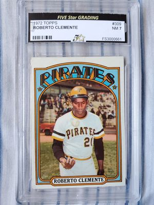 Roberto Clemente 1972 Topps Card # 309 NM 7 for Sale in Alhambra, CA