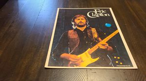 Eric Clapton concert program for Sale in Chino Hills, CA