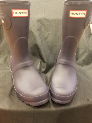 "HUNTER ""WELLINGTON"" NAVY RAIN BOOT for Sale in Philadelphia, PA"