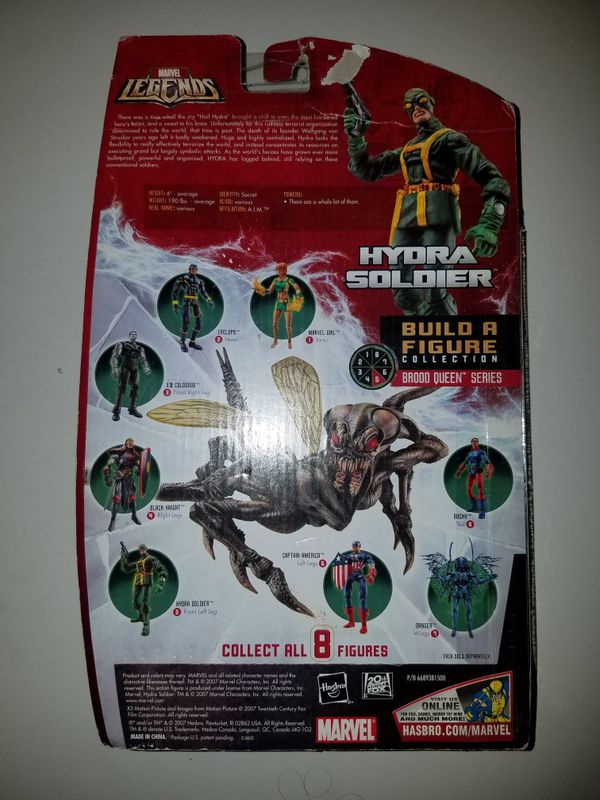 Marvel Comics Marvel Legends lot of 4 Cylops, Hydra, Absorbing Man