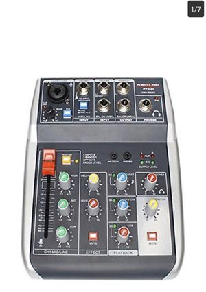 Phenyx Pro 4-Channel Audio USB Mixer 4-Input 3-Band EQ for Sale in Los Angeles, CA