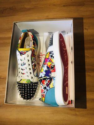 Christian Louboutin mens low top sneaker for Sale in Lynwood, CA