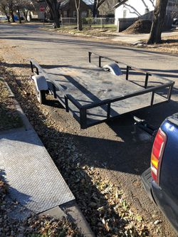 Utility trailer 400obo for Sale in Wichita,  KS