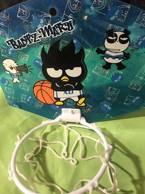 Badtz-Maru (Sanrio) Mini Basketball 🏀 Hoop for Sale in Rialto, CA