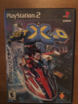 Sony PlayStation ps2 jet x2o for Sale in Visalia, CA