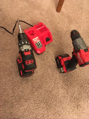 2 Milwaukie cordless drill for Sale in Hillsboro, OR