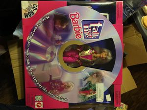 Barbie Talk With Me 1997 collector doll for Sale in San Antonio, TX