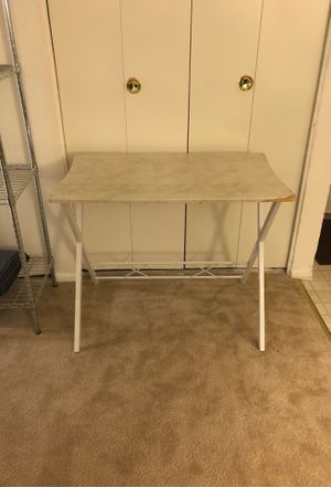 Free (Metal and wood table ) for Sale in Herndon, VA