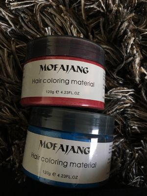 Mofajang hair coloring material(blue,red) for Sale in Payson, AZ