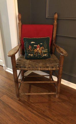 Brown wicker chair for Sale in Nashville, TN