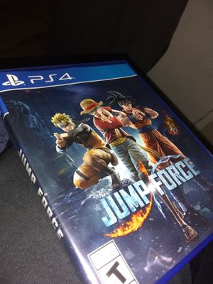PS4 JumpForce for Sale in Cashmere, WA