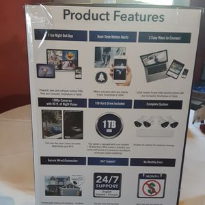 New security cameras have never opened. for Sale in La Vergne, TN