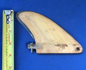 vintage surfboard fin. for Sale in Sunrise, FL