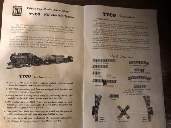 1950s Tyco Train Box