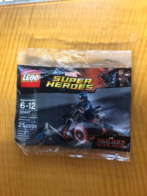 Lego 30447 captain America's motorcycle polybag for Sale in Hayward, CA