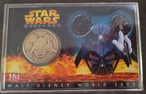 Star Wars Walt Disney World 2005 Collector Bronze Coin for Sale in Washington, DC