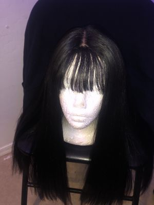 Lace front wig w/ bangs for Sale in Goodyear, AZ